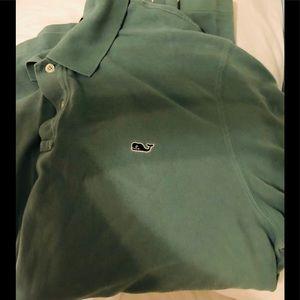 Vineyard Vines Green Men's Polo Style shirt XL